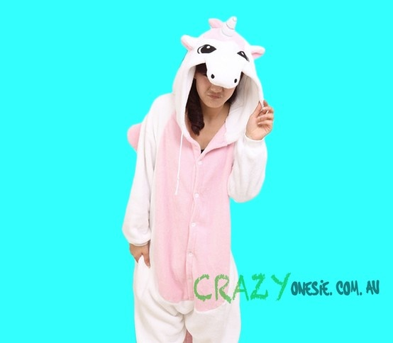 Pink Unicorn Onesie. 25% off EVERYTHING in store. Free Express Delivery Australia-wide. Visit www.crazyonesie.com.au for more details. Visit our Facebook page https://www.facebook.com/crazyonesie for exclusive competitions and discounts