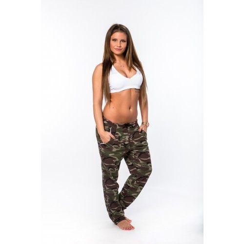 relax pants női szabadidőnadrág terepmintás kivitelben