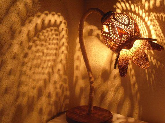 100% HANDMADE Gourd lampKürbislampe by GOURDARTISTANBUL on Etsy