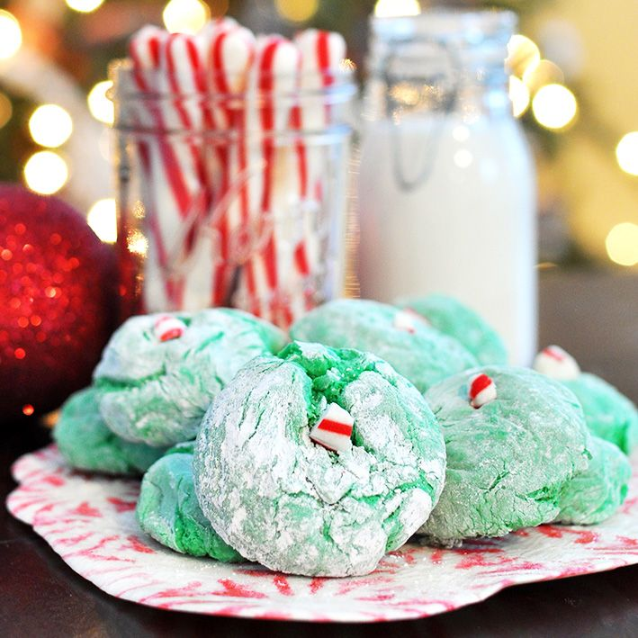 How the Grinch Stole Christmas Cool Whip Cookies - Cherished Bliss