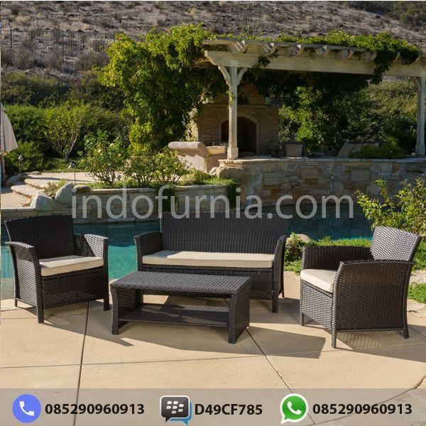 Sofa Rotan Sintetis Minimalis KR-33