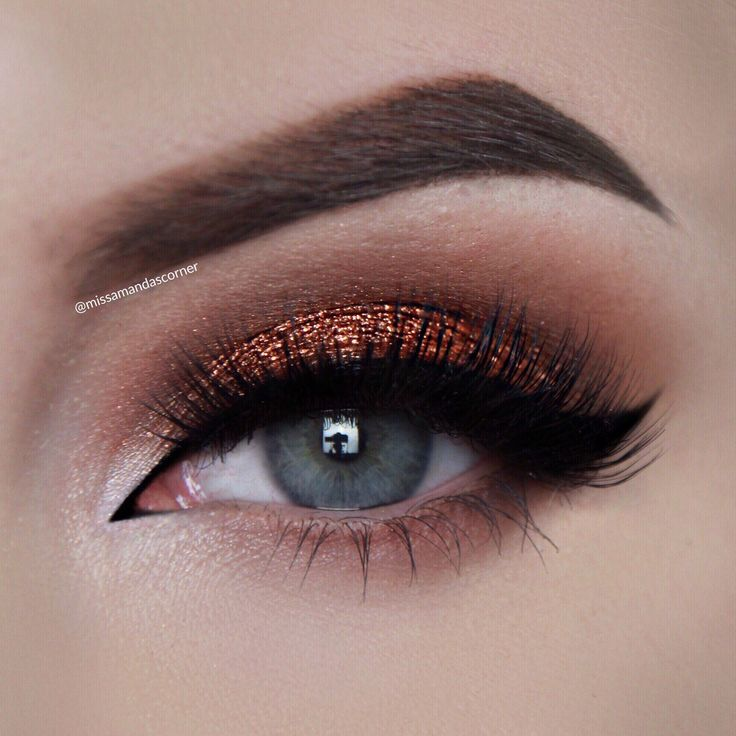 Easy Copper Smokey Eye Tutorial is now live on my YouTube channel!!