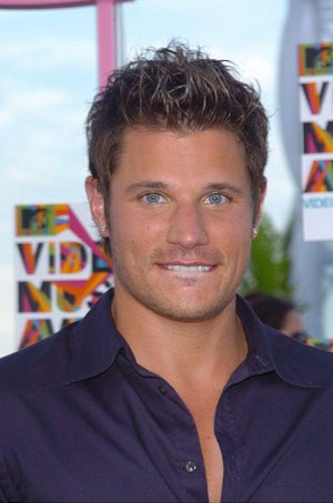 Nick Lachey. Love his eyes!
