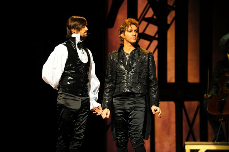 Mozart l'Opera Rock Salieri and Mozart