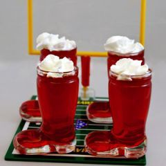 The Kicker Jello Shot. could serve on Christmas eve too....