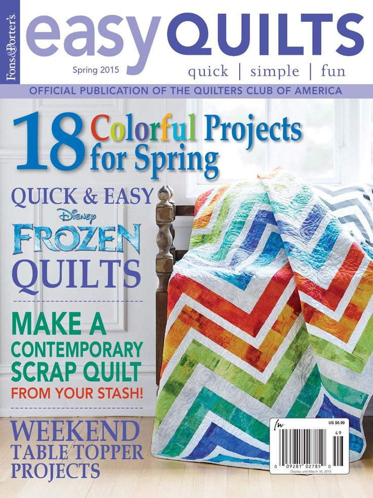 Easy Quilts Spring 2015 Digital Issue by New Track Media