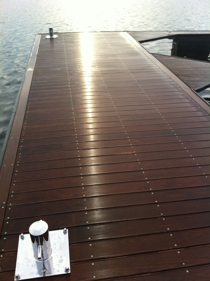 Green, sustainable decking, docks and patio option, Kebony by www.homesteadtimbers.com