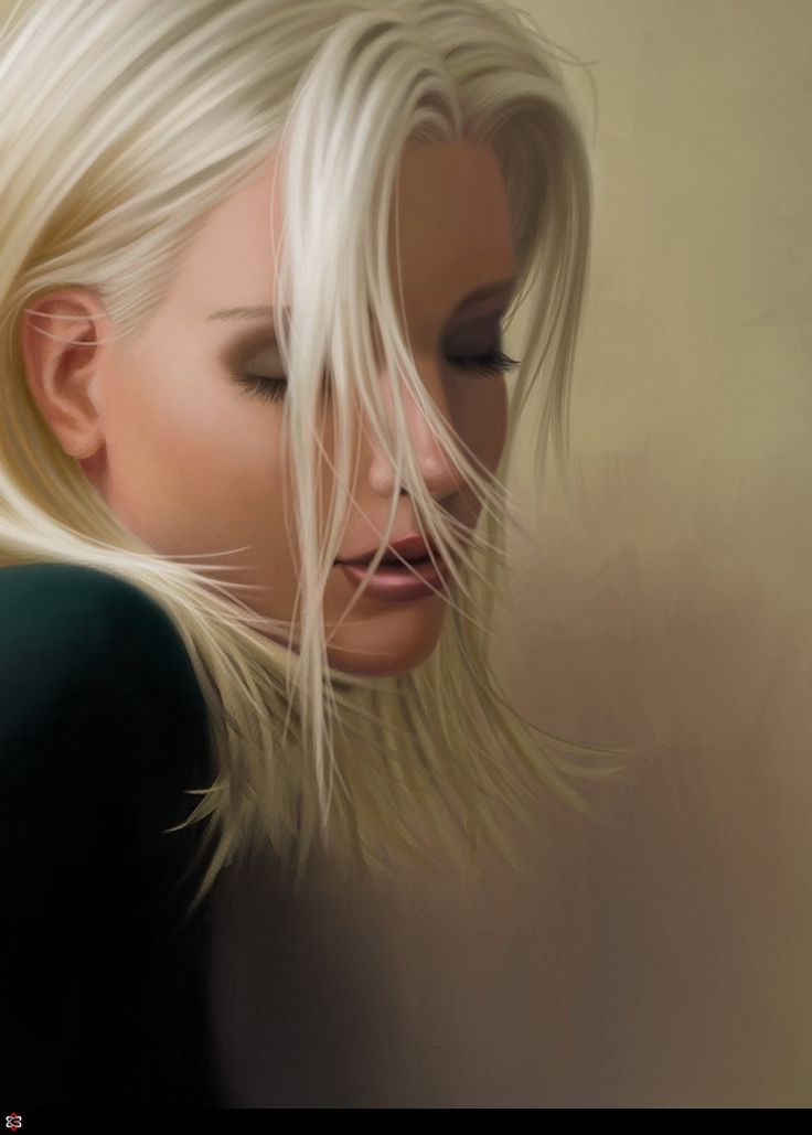 CGPortfolio - Robert Chang: Hair Colors, Mood1Dartist Version, Digital Paintings, Faces, Dartist Digital, Beautiful, Digital Artists, Bella Species, Artists Robert