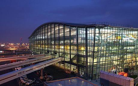 O Terminal 5 do Aeroporto de Heathrow, em Londres