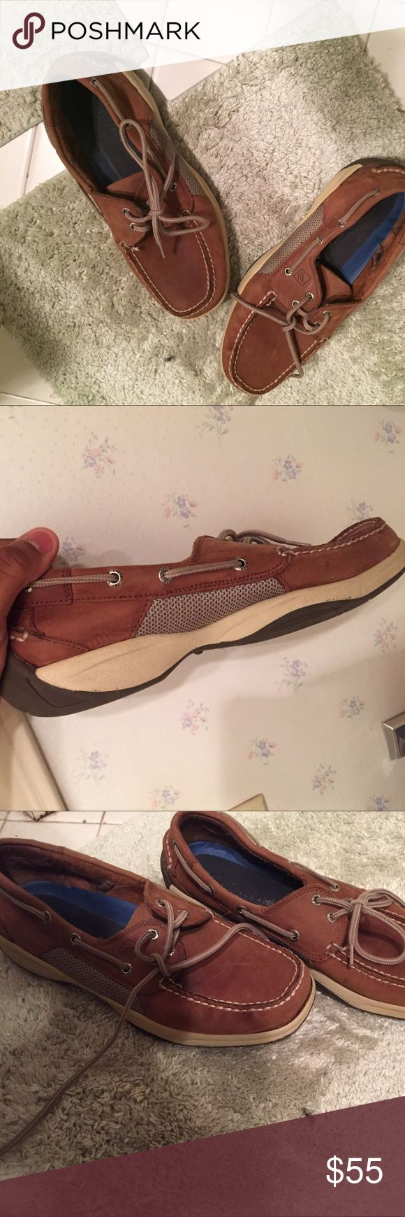Men's 10.5 Sperry. I have only worn these twice and now have outgrown them so. Any takers. I'm swelling for cheap to Sperry Top-Sider Shoes Flats & Loafers