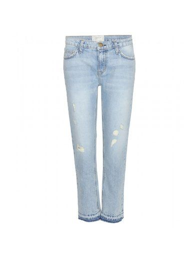 The Cropped Straight Jeans