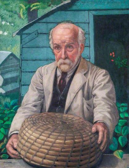 Chubb, Ralph, (1892-1960), Nicholas Drew Chubb, 1927, Oil