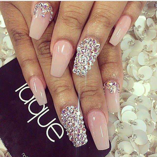 2014 Nail Art Ideas For Prom: PROM IS NEAR! ⌚️ @prombeauties Prom Nails #pr...Instagram