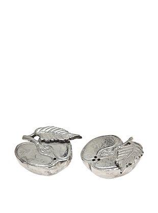 50% OFF Godinger Cut Apple Salt & Pepper Shakers, Silver