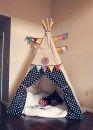 Allestire una tenda nella cameretta del bambino, o in angolo della casa non è complicato, 10 idee a cui ispirarsi. Perfette e divertenti anche nel giardino!