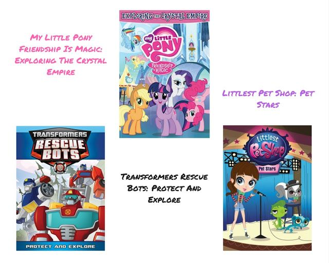Mommy Katie: #Giveaway New DVD's from Hasbro Studios