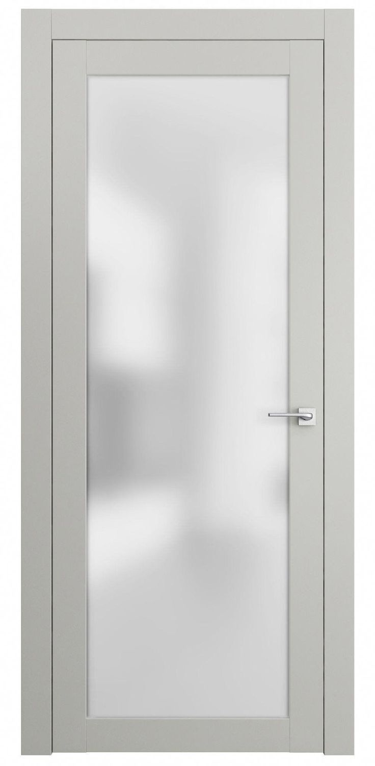 This modern neoclassic interior door is made from a solid wood frame and covered…  – Interieur