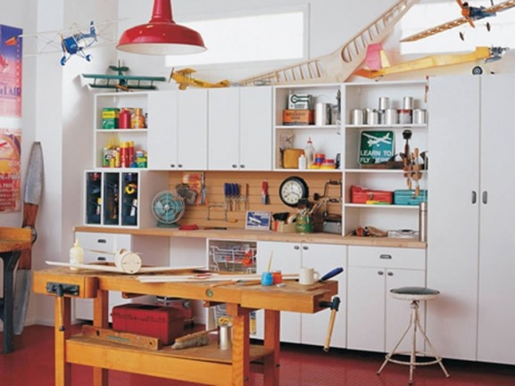 Garage   Eclectic   Home Office   Baltimore   California Closets Maryland