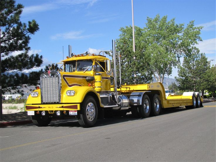 Пин от пользователя Billy Mullins на доске big trucks