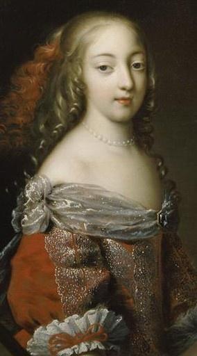 """Francoise """"Athenaise"""", Marquise de Montespan. Mistress of Louis XIV and mother of four surviving children."""