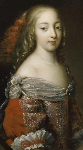 "Francoise ""Athenaise"", Marquise de Montespan. Mistress of Louis XIV and mother of four surviving children."