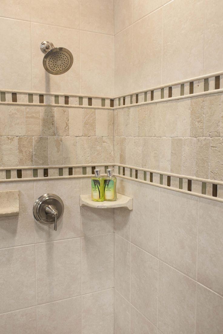 Bathroom Ceramic Tile Trim: Complete tile part.