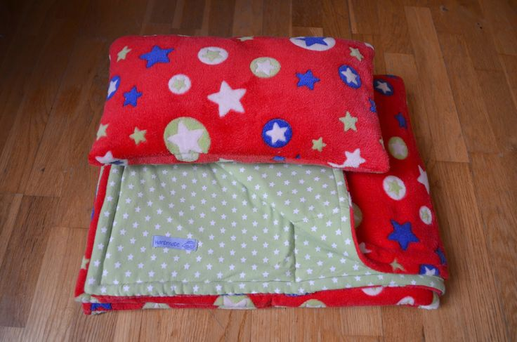 Fleece Quilted Baby Blanket ~ Stuff and Spice