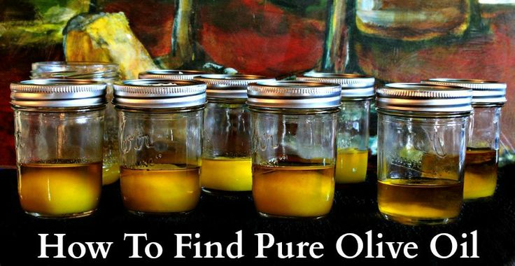 How To Find Pure Olive Oil