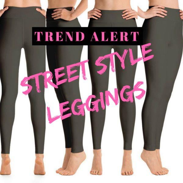 Trend Alert: Street Style Leggings