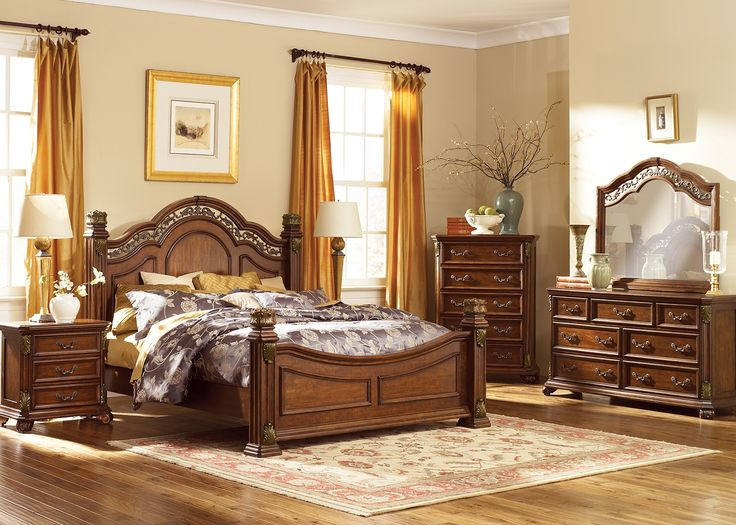 Bedroom Furniture-The Melino Collection-Melino Queen Bed