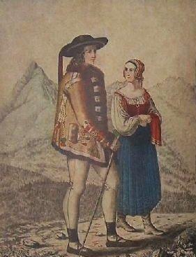 Rare Bk Slovakia FOLK COSTUME OF LIPTOV National Dress Ethnic Kroj Village 1955