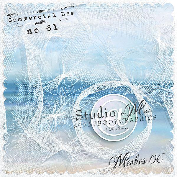 Meshes 06 - CU - by Studio EMKA http://shop.scrapbookgraphics.com/Meshes-06-Commercial-Use-61.html
