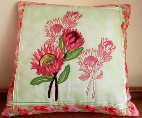 3D Protea Cushion