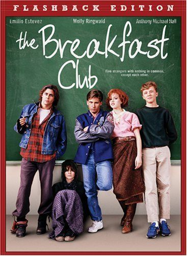 Still love The Breakfast Club after all these years!