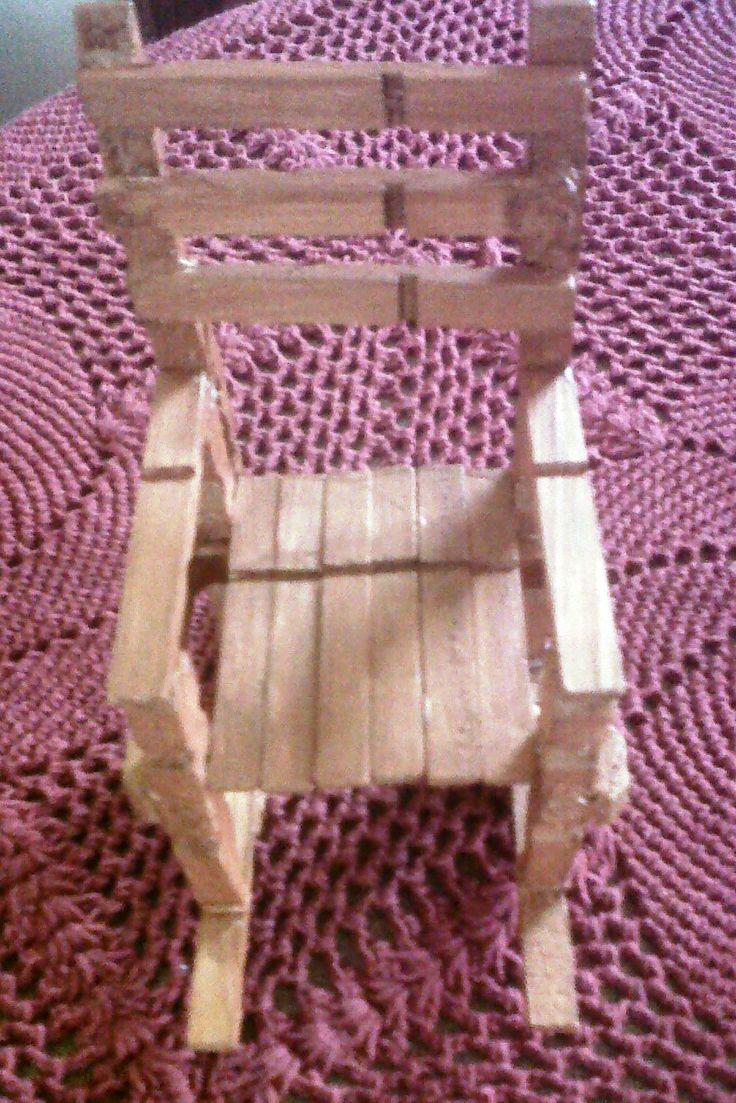 Washing Peg rocking chair
