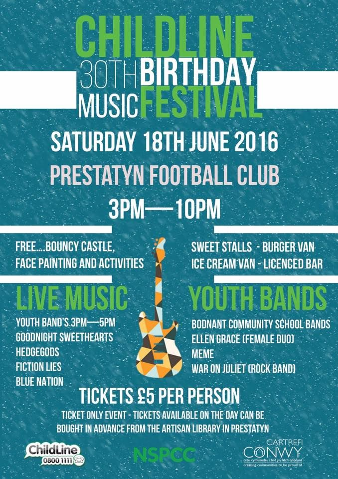 Childline 30th Birthday Music Festival