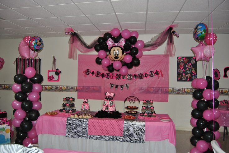 1st Birthday Zebra Print Party Supplies Image Inspiration of Cake
