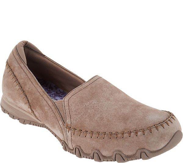 Skechers Relaxed Fit Suede Slip-On