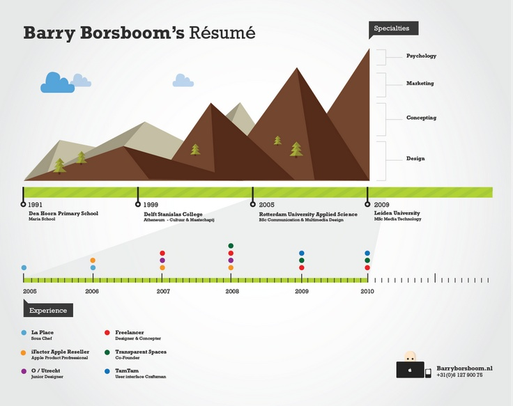 1179 best Infographic Resumes images on Pinterest Architecture - infographic resume creator