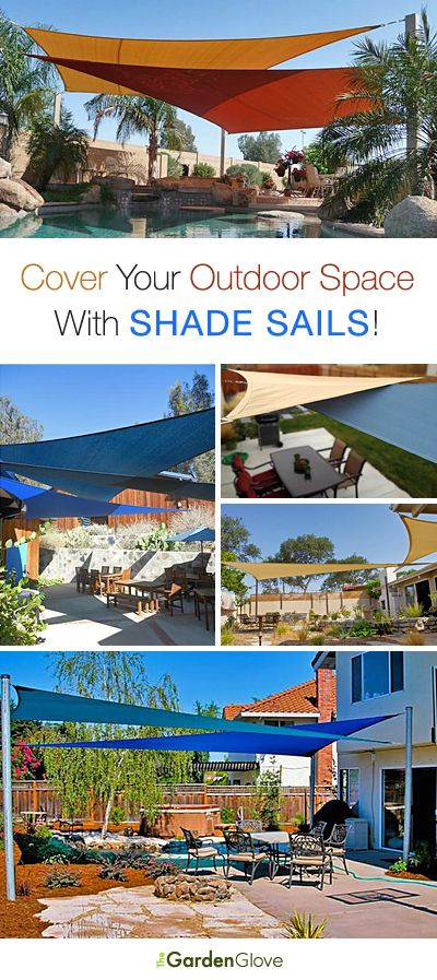 Cover Your Outdoor Space With Shade Sails • Tips, Ideas & Tutorial!