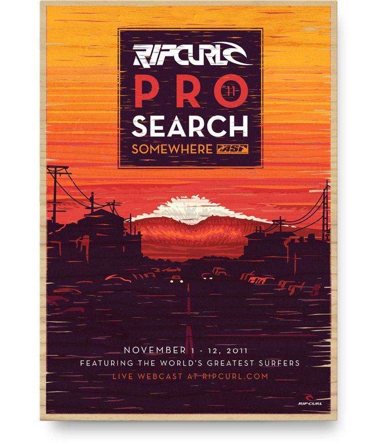 Ripcurl Pro Search: Pro Search, Ripcurl Posters, Posters Design, Ripcurl Pro, Posters Prints Adv, Graphics Design, Design Art Illustrations Ads, Search Posters, Design Posters
