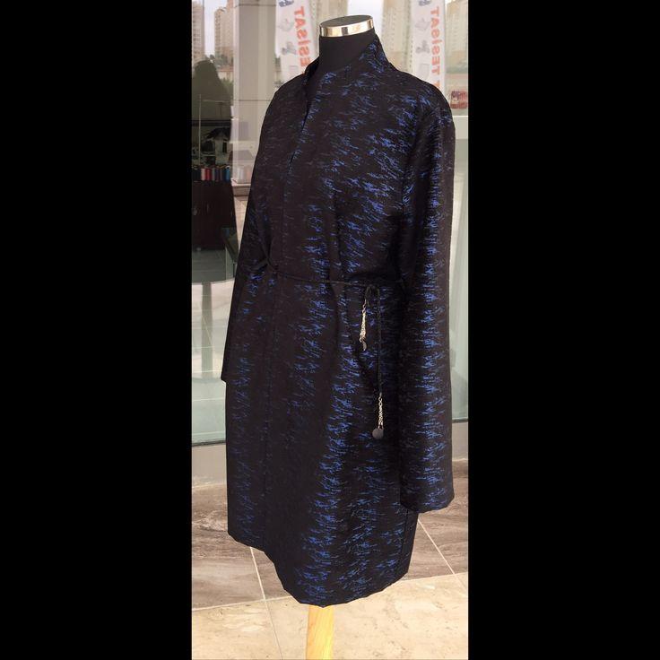 İncirr_inci mavi kadife ceket