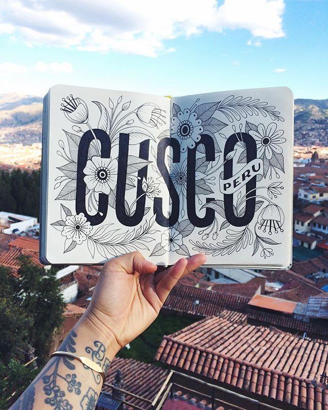Typography   Cusco Peru by homsweethom