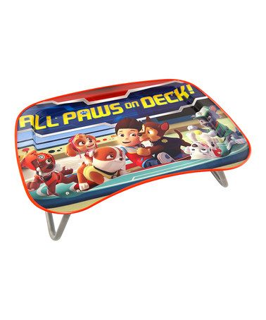Love this Paw Patrol TV Snack/Activity Tray on #zulily! #zulilyfinds