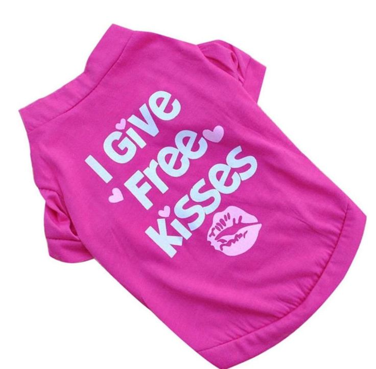 Dog Clothes Small Thru Large Valentines Day Tee Shirt For Small Dogs Female New #Unbranded