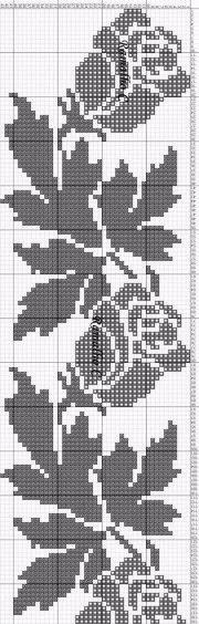 Схемы для филейного вязания — Рукодельный уголок