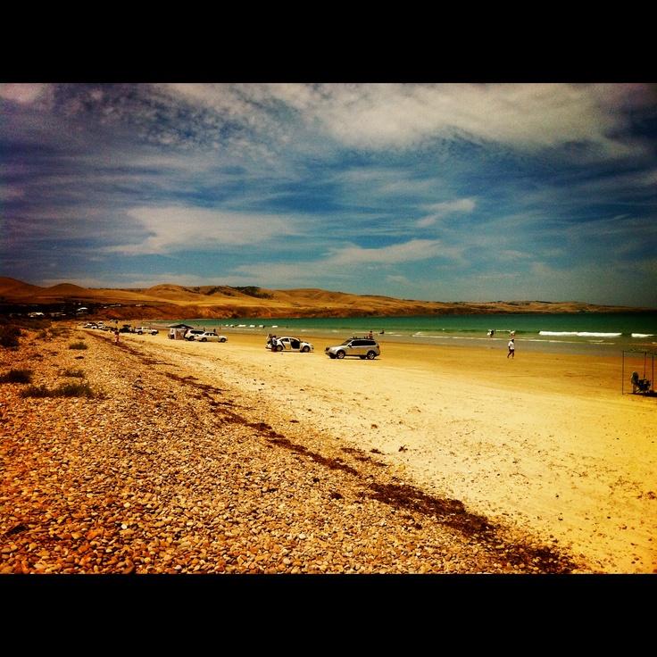 Aldinga beach. beautiful day