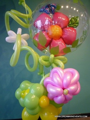 Fort Lauderdale Balloons delivery, Unique flower balloons delivery in Broward. Today deliver balloons by DreamARK Events in Las Olas