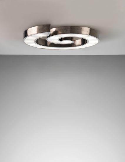 Axel Einar Hjorth, Unique ceiling light, designed for the Tösse bakery, Stockholm, 1930