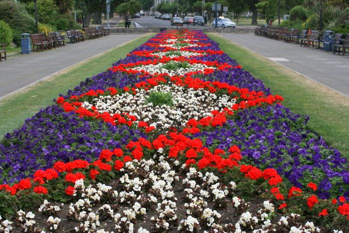 Floral display  Southsea Castle 2014
